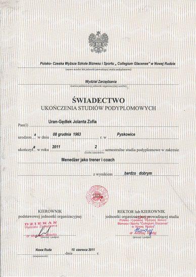 Jolanta-Uran-Gędłek_certyfikat-coaching-podyplom